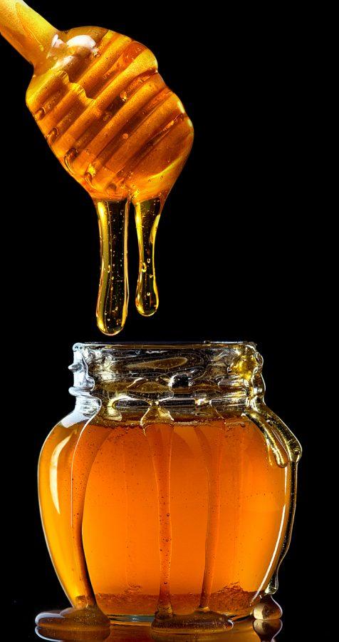 фотосъемка - баночка меда