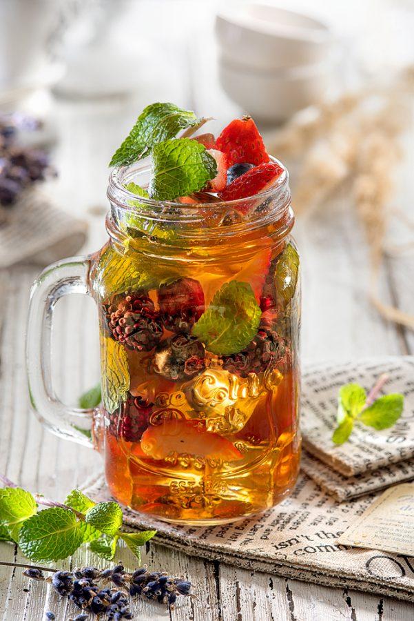Food съемка - холодный чай