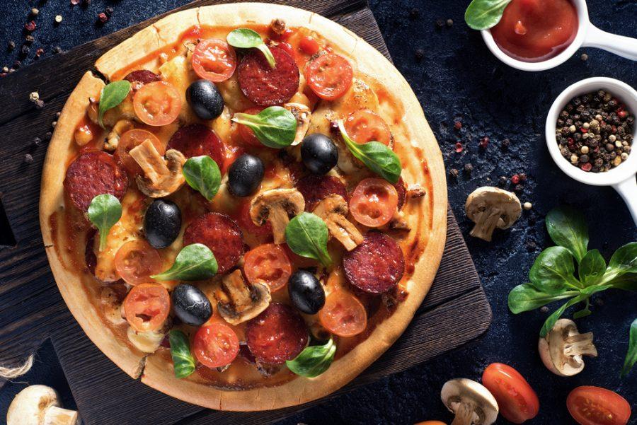 фотография пиццы